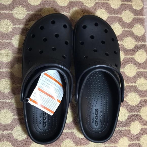 4fb7d2dc1890 Crocs Women (Unisex) Coast Clog Black
